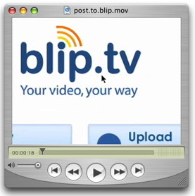 Post With Blip.tv